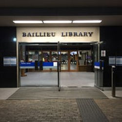 Baillieu Library Hours